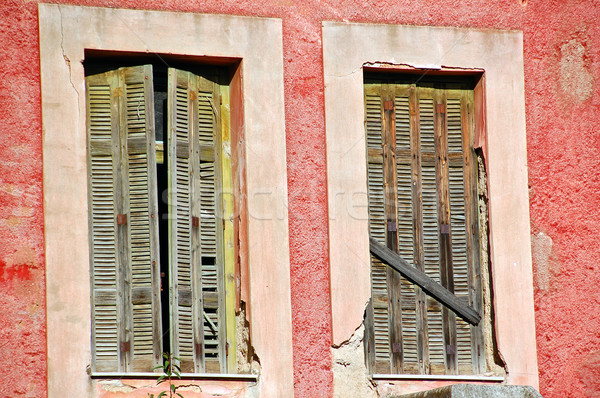 boarded windows Stock photo © sirylok