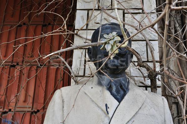 Marbre statue homme Athènes Grèce 2012 Photo stock © sirylok