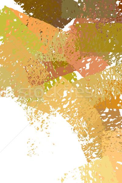 Pastel cores ilustração escove pintar abstrato Foto stock © sirylok
