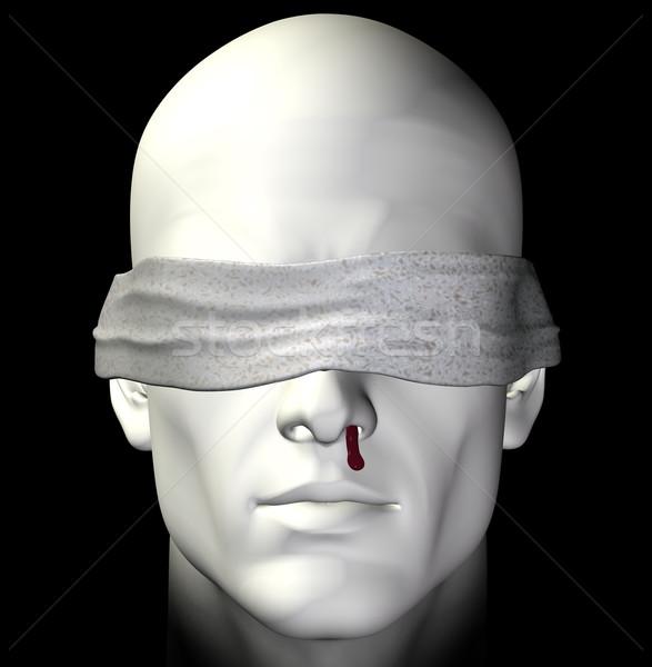 tortured man Stock photo © sirylok