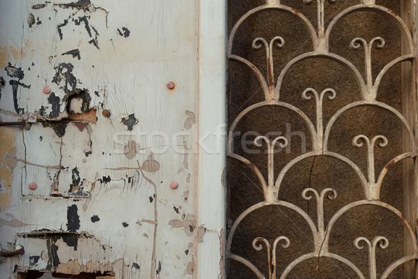 old door rusty pattern Stock photo © sirylok