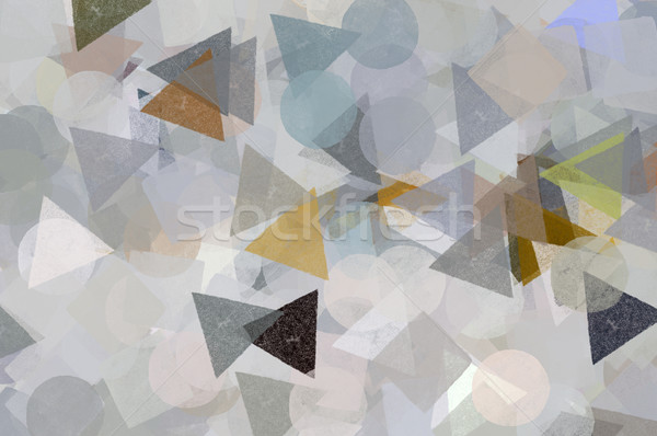 geometric shapes pattern Stock photo © sirylok