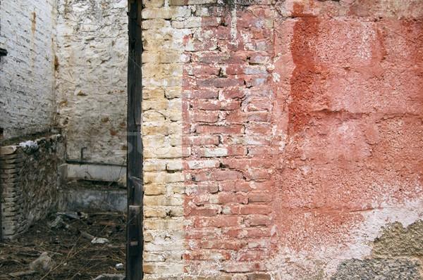 weathered brick wall Stock photo © sirylok