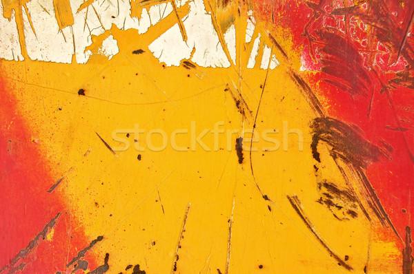 metal paint Stock photo © sirylok