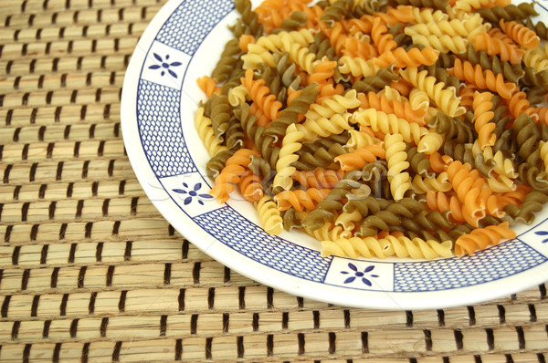 fusilli pasta Stock photo © sirylok