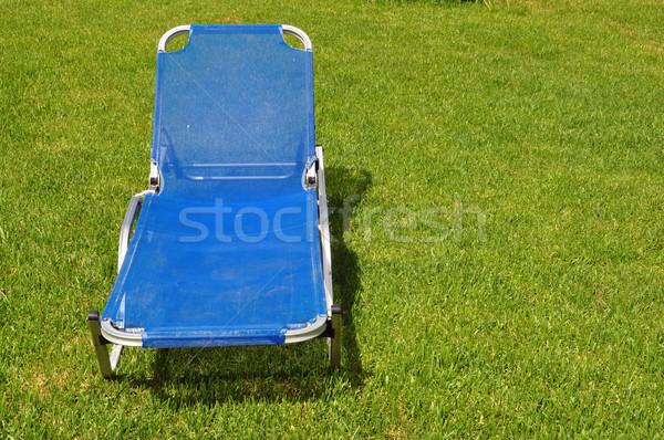 lawn chair Stock photo © sirylok