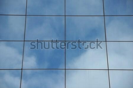 glass building facade Stock photo © sirylok