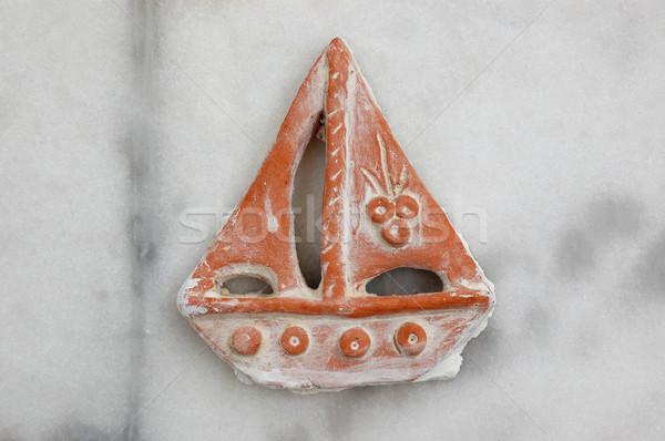 small boat traditional pottery Stock photo © sirylok