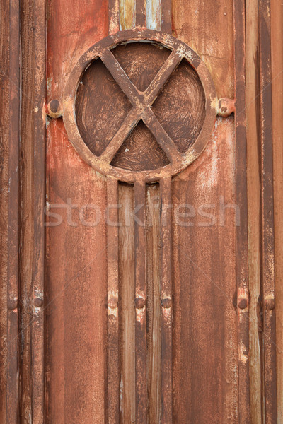 industrial metal gate texture Stock photo © sirylok