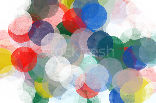 abstract circles pattern illustration Stock photo © sirylok