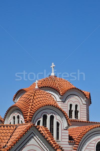 教会 ドーム オーソドックス 詳細 クロス ストックフォト © sirylok