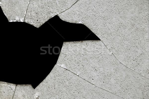 broken glass fragments Stock photo © sirylok