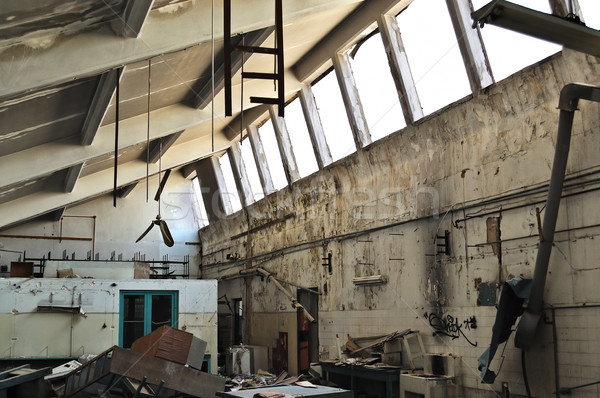 abandoned factory ruins Stock photo © sirylok