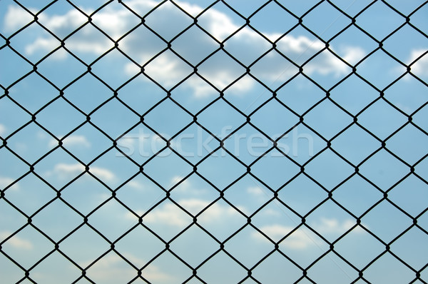 chain link fence Stock photo © sirylok