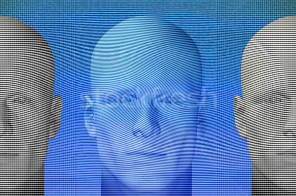 futuristic figures Stock photo © sirylok