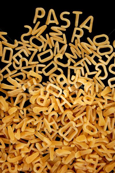 abc pasta background Stock photo © sirylok