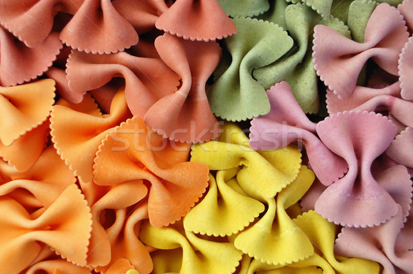Sapori italiana pasta creativo alimentare texture Foto d'archivio © sirylok