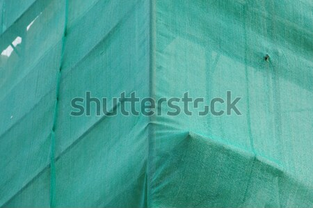 creased debris netting background Stock photo © sirylok