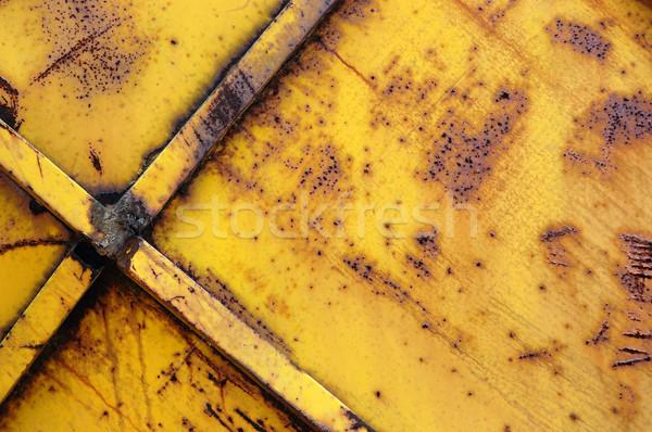 Stock photo: iron bars rusty metal background