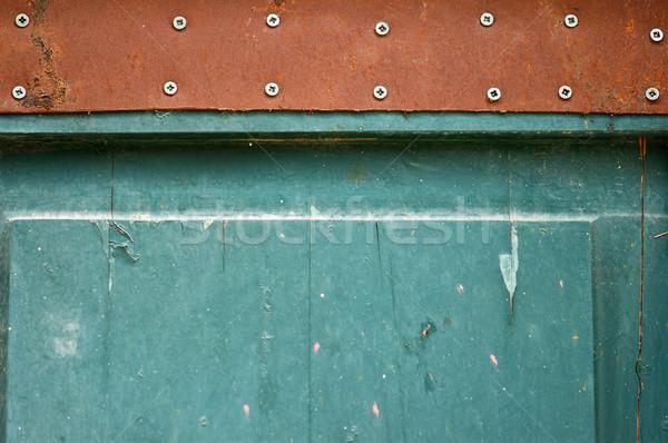 blue door detail Stock photo © sirylok