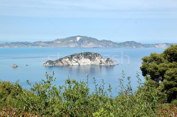 島 海 カメ 卵 ザキントス ギリシャ ストックフォト © sirylok