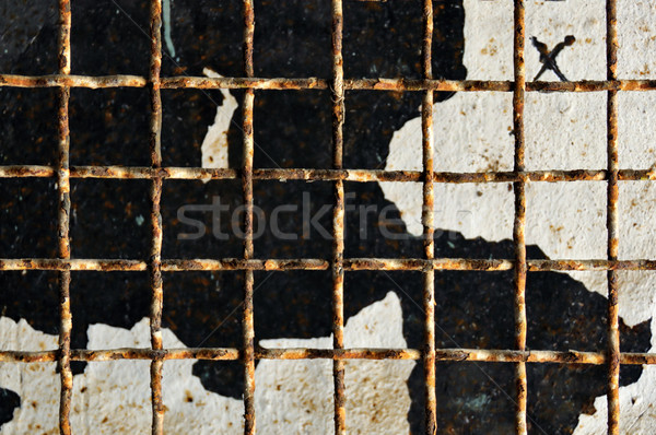 rusty metalwork Stock photo © sirylok