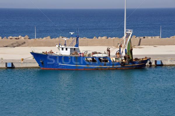 rusty fishing trawler Stock photo © sirylok