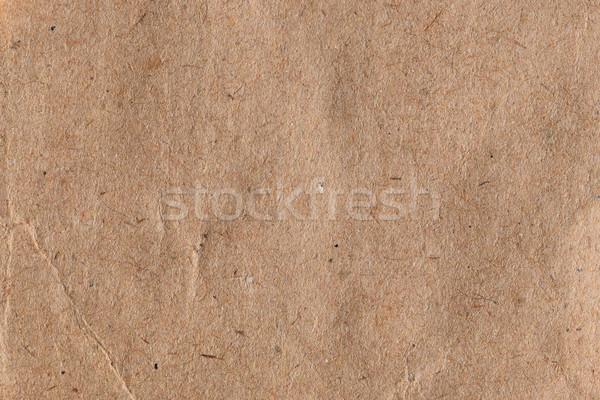 Barna papír absztrakt textúra háttér karton anyag Stock fotó © sirylok