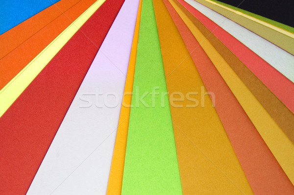 paper colors Stock photo © sirylok