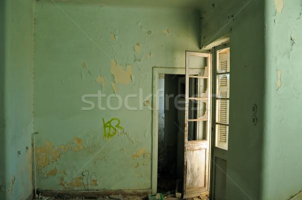 の空室 塗料 壁 捨てられた ストックフォト © sirylok