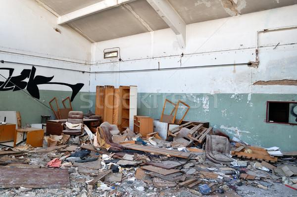 abandoned factory Stock photo © sirylok