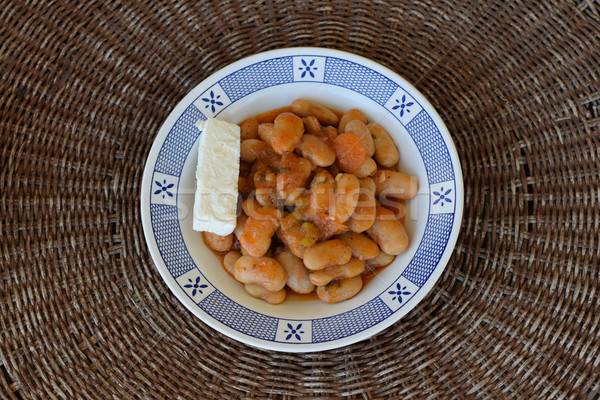gigantes beans greek food Stock photo © sirylok