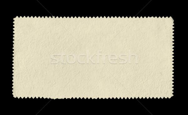 Vintage почтовая марка пространстве текста бумаги дизайна Сток-фото © sirylok