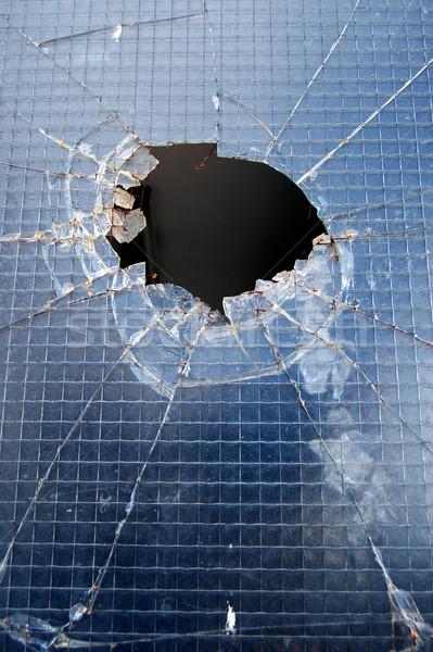 broken window Stock photo © sirylok