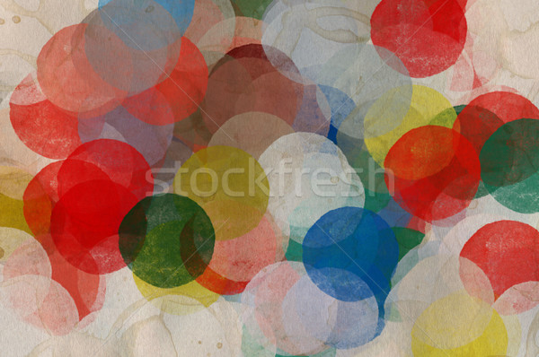 paint smudged circles Stock photo © sirylok