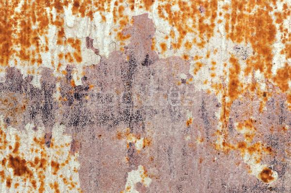 chipped rusty metal Stock photo © sirylok