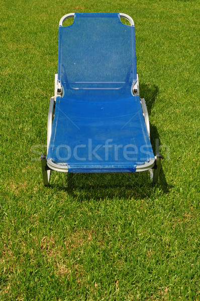 reclining lawn chair Stock photo © sirylok