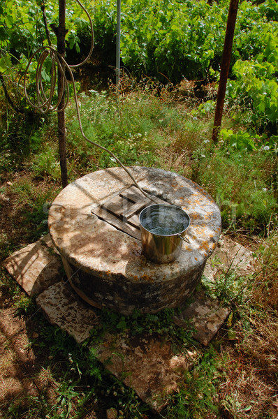 伝統的な 古い 石 も 畑 ストックフォト © sirylok