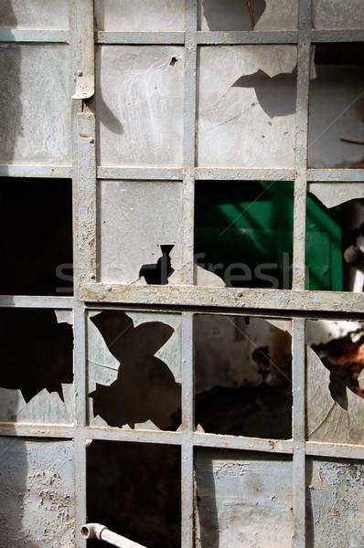 broken windows Stock photo © sirylok