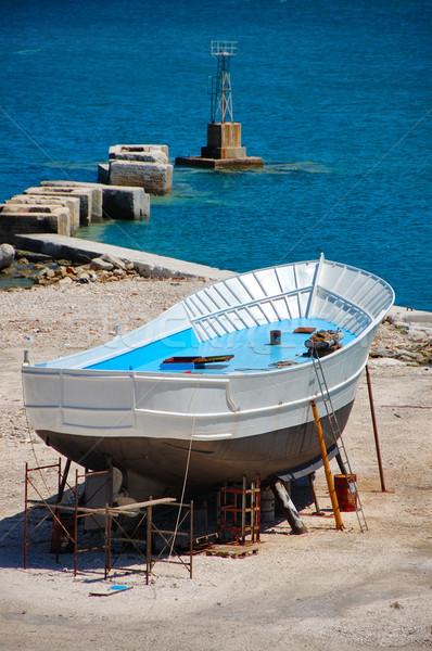 漁船 ザキントス ギリシャ ビジネス 空 ストックフォト © sirylok
