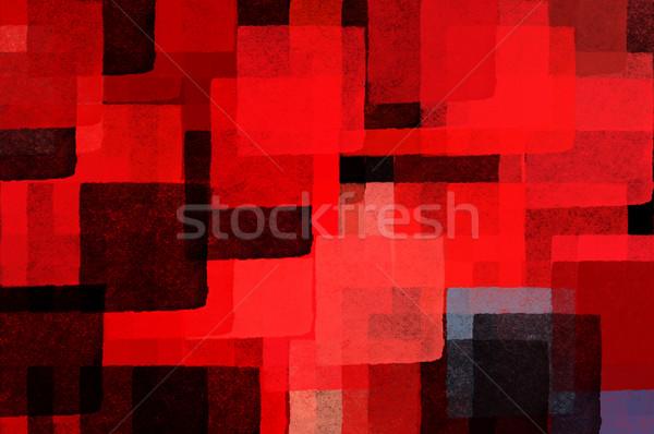 Foto stock: Padrão · abstrato · ilustração · escove · pintar
