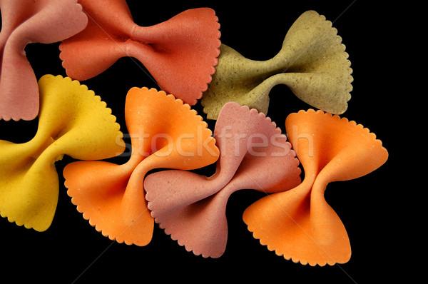 farfalle pasta background Stock photo © sirylok