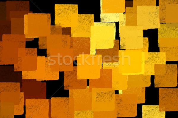 Pleinen abstract patroon illustratie borstel verf Stockfoto © sirylok