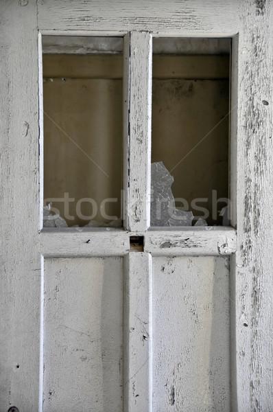broken door Stock photo © sirylok