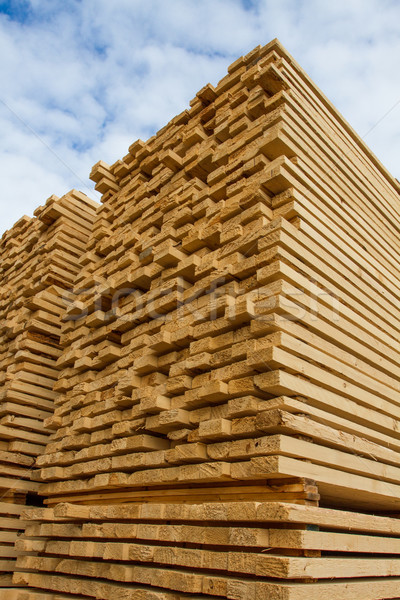Rough cut lumber Stock photo © skylight