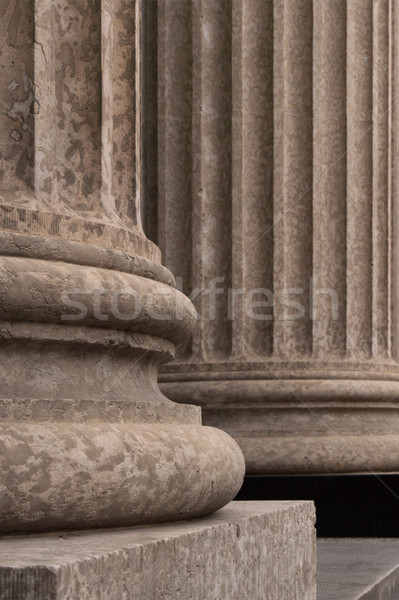 Corinthian Columns Base Detail 2 Stock photo © skylight
