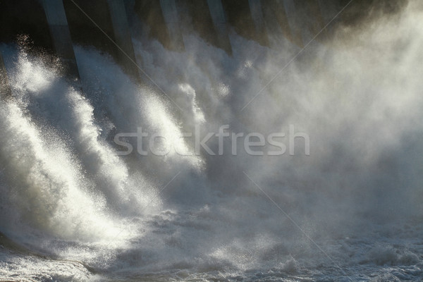 Hydro Dam Spillway Stock photo © skylight