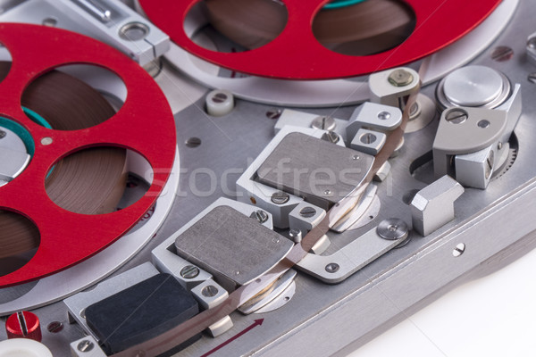 Reel to reel audio tape recorder mc 1 Stock photo © skylight