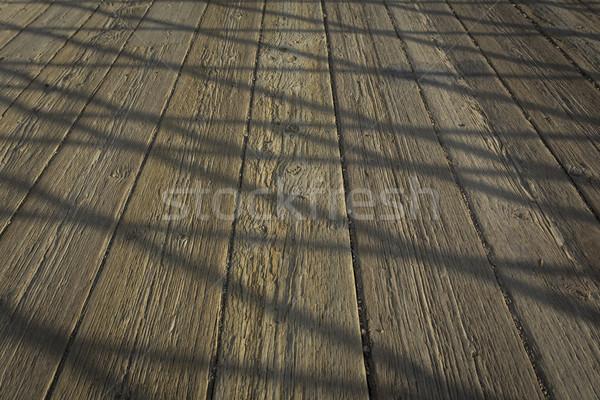 моста палуба поверхность старые крест Сток-фото © skylight