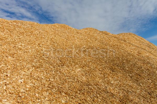 большой древесины чипов Сток-фото © skylight